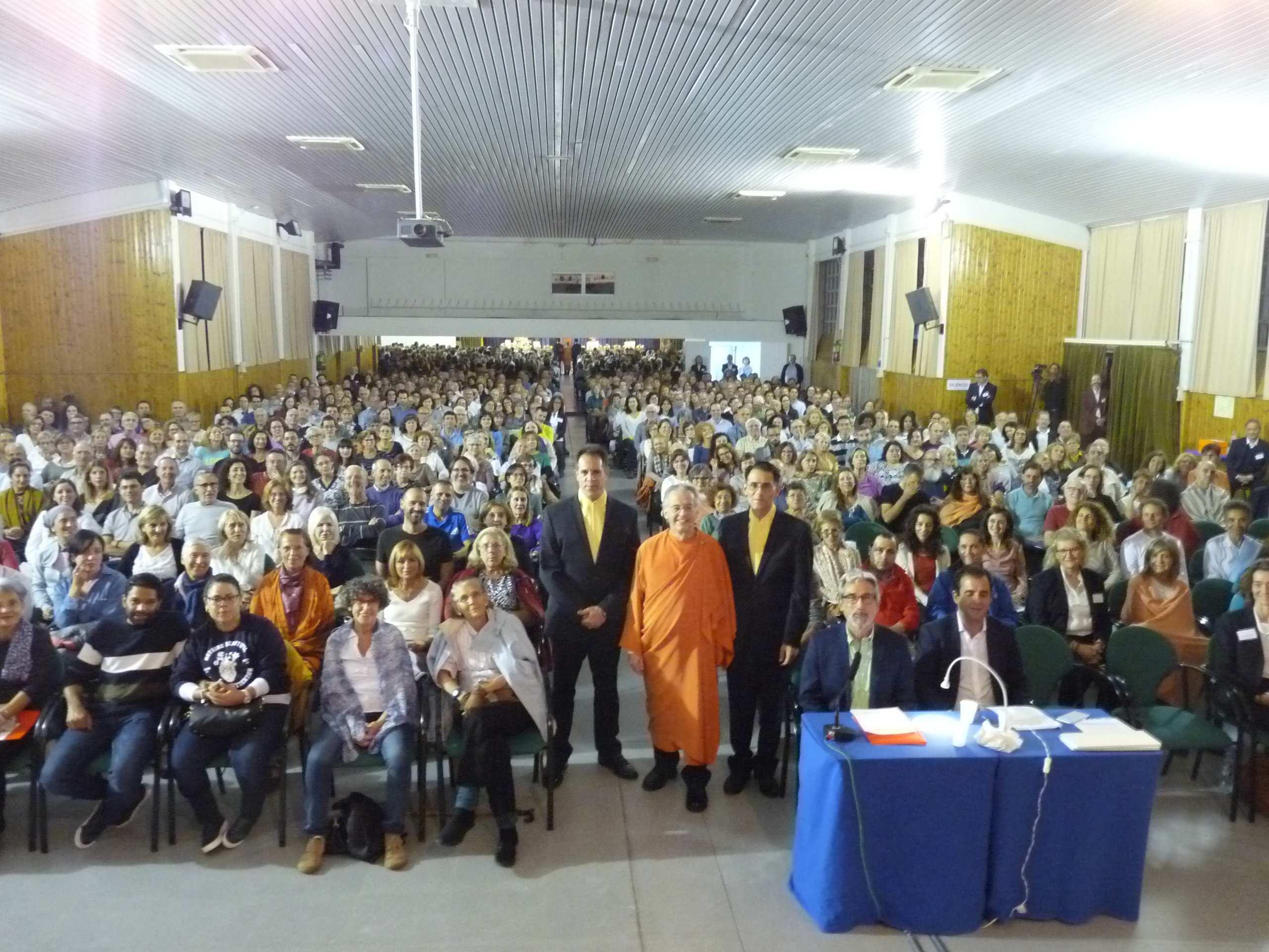 Conferencia visita monástica Madrid