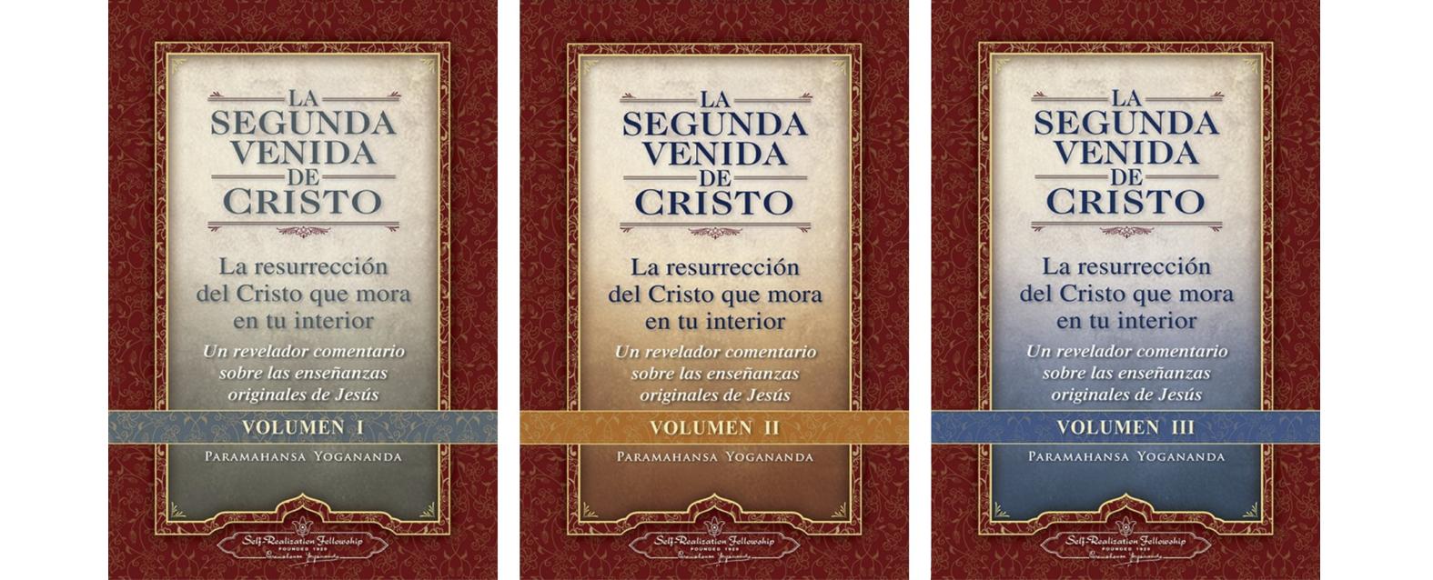 La segunda venida de cristo Volumen I, II y III